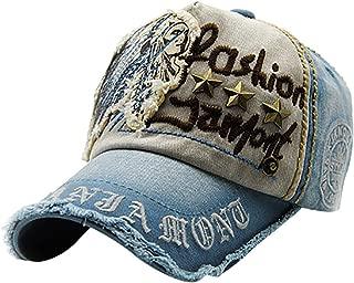 hat Cap Polo Cap Golf Cap Beach hat Sun hat Unisex Letter Embroidered Cotton hat Washed Baseball Cap
