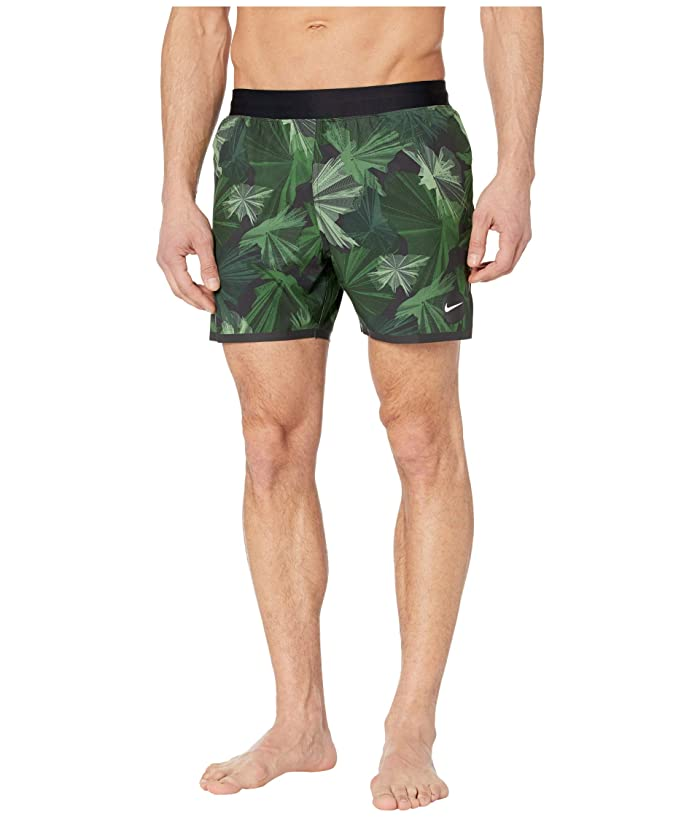 Nike  5 Global Camo Blade Volley Shorts (Galactic Jade) Mens Swimwear
