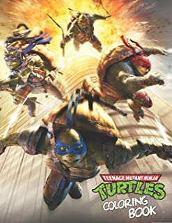 Teenage Mutant Ninja Turtles Coloring Book: Kickin' It Old School Coloring Book (Teenage Mutant Ninja Turtles) (Adult Colo...