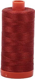 Aurifil Mako Cotton Thread Solid 50wt 1422yds Terracotta