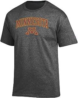 NCAA Men's Short Sleeve T-Shirt Charcoal Arch