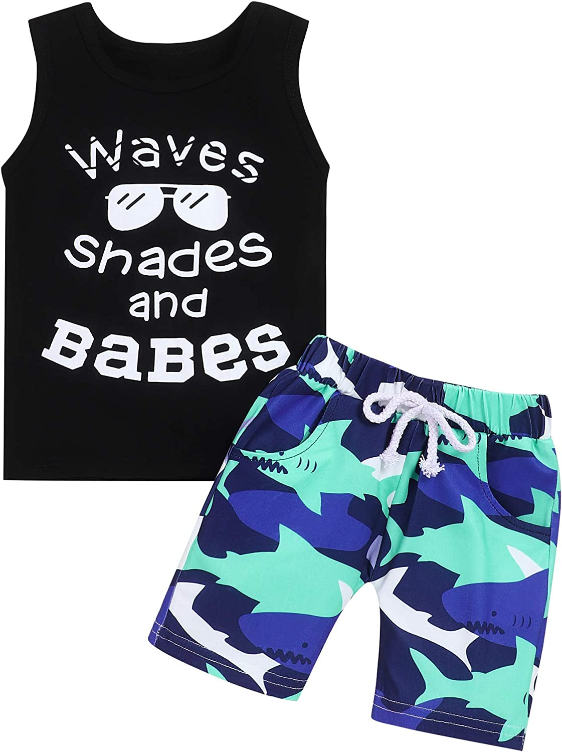 Toddler Boys Summer Clothes unisex Ranking integrated 1st place Boy Dress Baby Todd Shorts Shirt