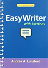 EasyWriter with Exercises 7e & LaunchPad Solo for Lunsford Handbooks (Twelve-Month Access)