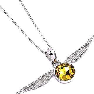 x Swarovksi Necklace & Charm Golden Snitch Carat Shop Pendenti