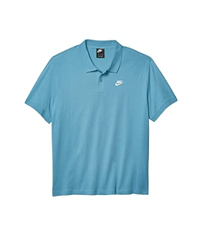 Nike NSW Polo Matchup Jersey (Cerulean/White) Men