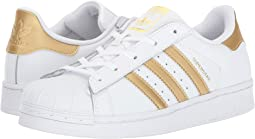 size 40 d1e70 11e4d WhiteBlack. 984. adidas Originals Kids. Superstar C Foundation (Little  Kid). 55.00. 5Rated 5 stars5Rated 5 stars. Gold