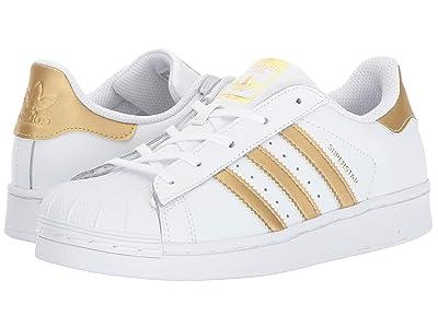 adidas Originals Kids Superstar (Little Kid) (Gold) Kids Shoes