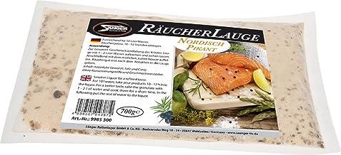 700g 2100g R/äucherlauge R/äucherlake nach Wahl Fisch Wurst K/äse Forellen Aal Provence