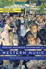 Norton Recorded Anthology Of Western Music 7E Volume 2 MP3 DVD: Classic to Romantic DVD-ROM