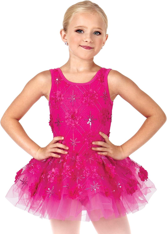 La Petite Ballerina Child Flower Challenge the lowest price of Japan ☆ Applique Dres Tank Tutu Colorado Springs Mall Costume