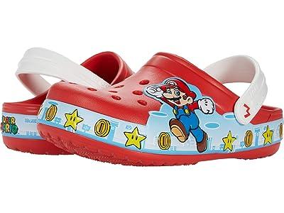 Crocs Kids Fun Lab Super Mario Lights Clog (Toddler/Little Kid) Kid