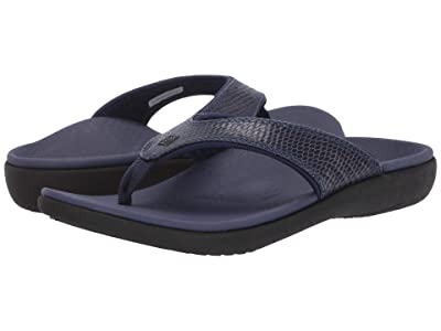 Spenco Yumi 2 Snake (Navy) Women