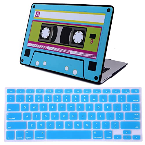 HDE MacBook Air 13 inch Case - Hard Shell Cover Keyboard Skin Fits Previous Generations A1466