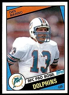 1984 Topps #123 Dan Marino NM-Mint RC Rookie Dolphins