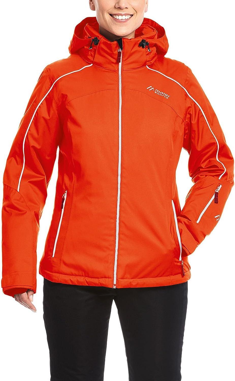Maier Sports Packaway 2L  Women Berguen W Ski Jacket, Womens, Berguen W, poinciana, XLarge