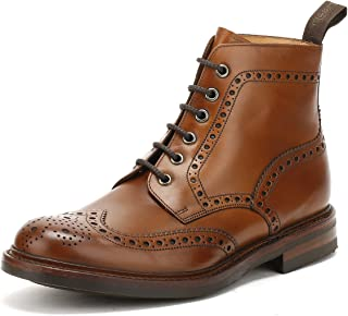 Loake Mens Burnished Calf Bedale Leather Boots
