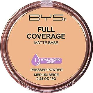 BYS Full Coverage Pressed Powder, Medium Beige