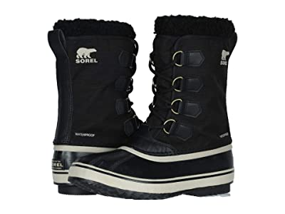 SOREL 1964 Pac Nylon (Black/Ancient Fossil) Men