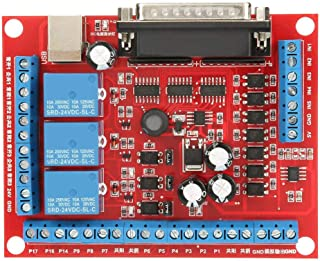Keenso DIY CNC 6 Axis MACH3 USB CNC Motion Controller Card Interface Engraving Machine Interface Breakout Board