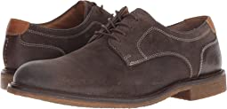 Gray Water-Resistant Oiled Suede