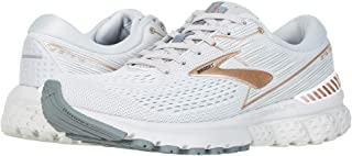 Brooks Women's Adrenaline GTS 19 Grey/Copper/White 6 B US