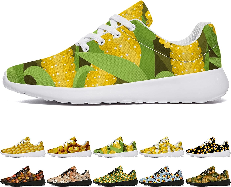 Corn Shoes Max 81% OFF Mens Womens 3D Comfort Lightw Regular dealer Breathable Custom Print
