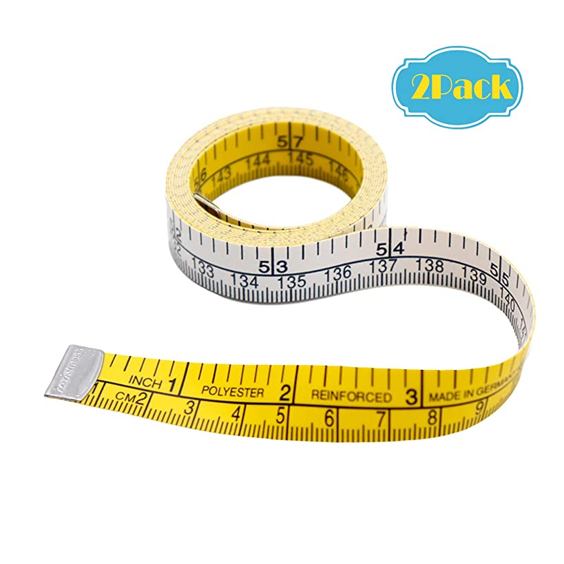 Tape Measure – Measuring Tape – Tool Kit Tape Measure – Measuring Tool – Measure Tool Kit –Tapes–Cloth Tape - 60 Inch Heavy Duty Professional Soft Tape Measure Tools-2 Pack