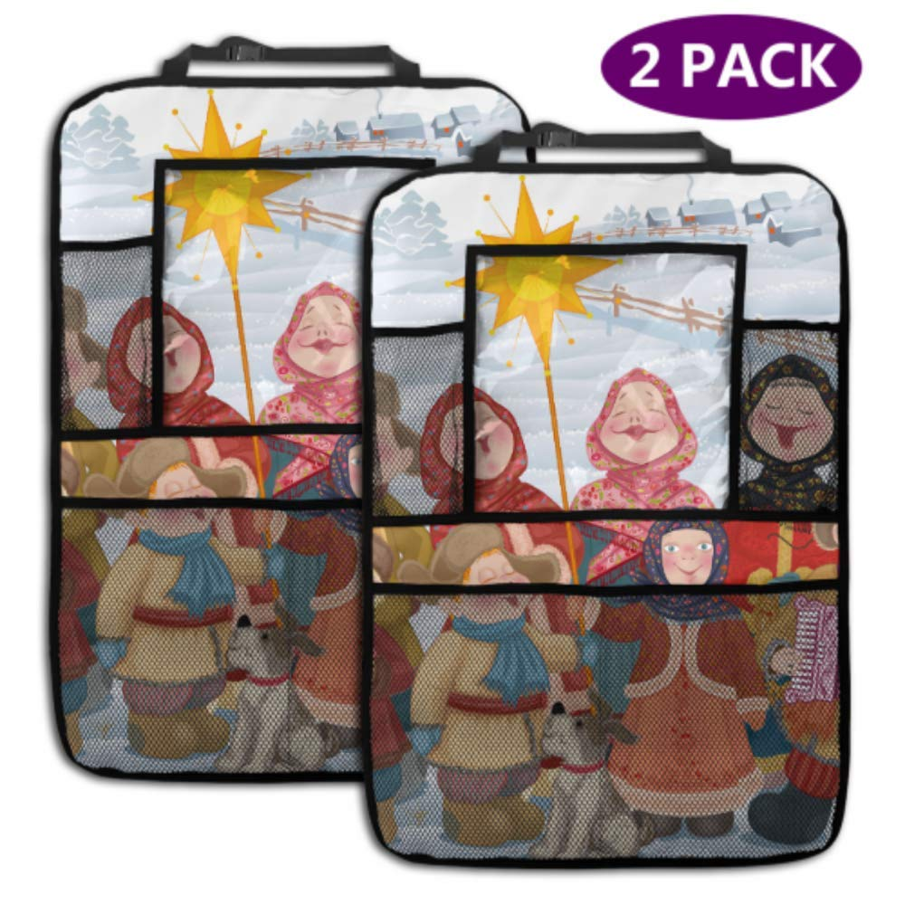 2 Bombing new work Pack Car Backseat Organizer Spring new work one after another People Russian Vill Children Young