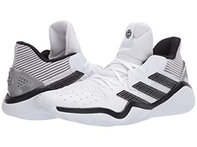 adidas Harden Stepback (Footwear White/Core Black/Dove Grey) Men