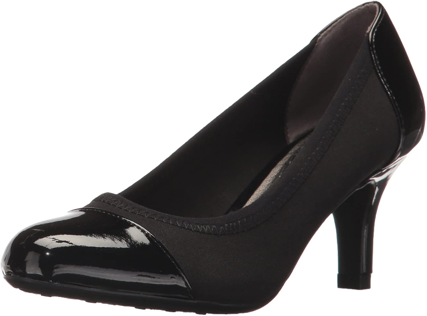 LifeStride Womens Parigi Stretch Dress Pump