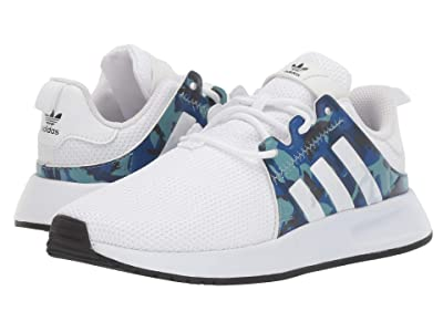 adidas Originals Kids X_PLR J (Big Kid) (White/Blue/Black) Kids Shoes