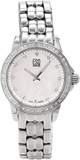 ESQ Movado Women's 7101250 Luxe White Mother Of Pearl Dial Watch