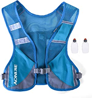comprar comparacion AONIJIE Unisex Running Chaleco de hidratación Ultraligero Mochilas Trail Ideal para Senderismo Maratón Escalada y Ciclismo...