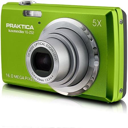 Praktica Luxmedia 16 Z52 Digitalkamera 2 7 Zoll Grün Kamera