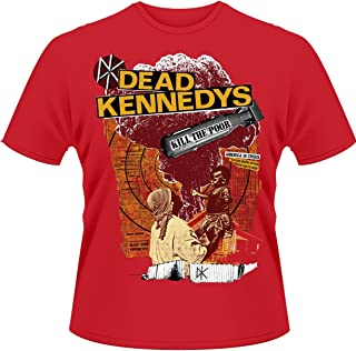 Plastic Head Men's Dead Kennedys Kill The Poor T-Shirt