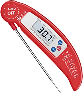 AMIR Digital Meat Thermometer, Instant Read Cooking Thermometer, Electronic Meat Thermometer with Probe for Kitchen, BBQ, ...