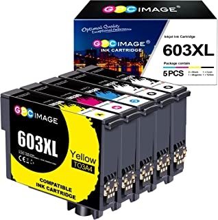 GPC Image 603 XL Tinta Compatible para Epson 603XL Cartuchos de Tinta para Expression Home XP-3100 XP-4100 XP-2100 XP-2105...