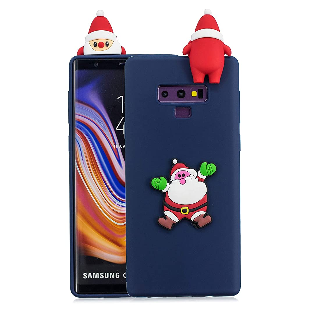 AICEDA Samsung Galaxy Note 9 Case, Thin Slim Shell Full Lens Protection Comfortable Soft Case Back Cover Compatible with Samsung Galaxy Note 9 - Dark Blue