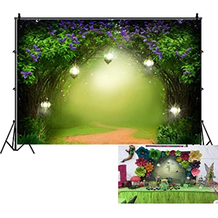 Yeele Enchanted Forest Backdrop for Photography 10x8ft Kids Birthday Party Background Child Adults Artistic Portrait Room Decoration Baby Acting Show Banner Photo Booth Photoshoot Studio Wallpaper