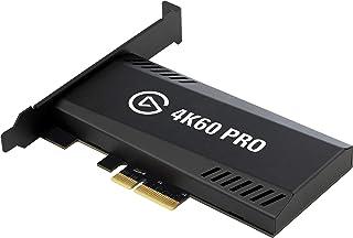 Elgato Game Capture 4K60 Pro - Captura y traspaso de señal a 4K 60FPS HDR Captura, PCI x4 (Interno), Tecnología Visualización Instantánea de latencia baja