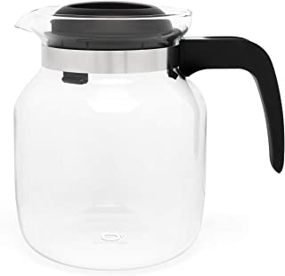 Bredemeijer Nora tekanna borosilikatglas – 1,25 l – glaskanna