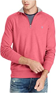 RALPH LAUREN Polo Men's Cotton-Blend Half-Zip Pullover...