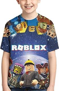 Cartoon Game T-Shirts Kids Short Sleeve Tee Cartoon Tops for Boys/Girls/Youth/Teen Red