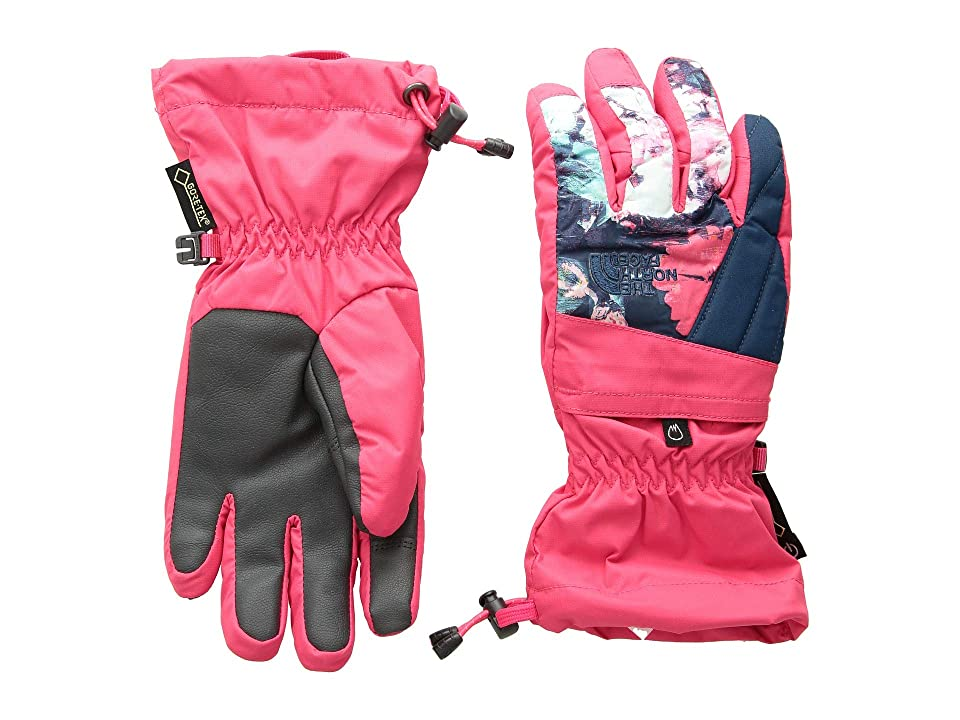 The North Face Kids Montana Gore-Tex(r) Gloves (Big Kids) (Atomic Pink) Extreme Cold Weather Gloves