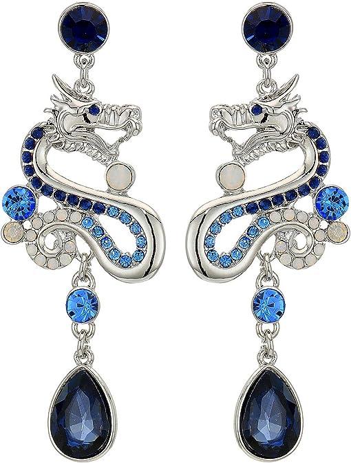 Silver/Light Sapphire