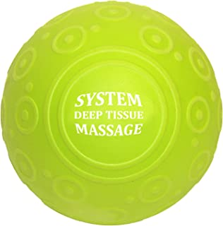 5 inch Deep Tissue Massage Ball & Mobility Ball High Density EVA Foam Roller Ball for Back and Leg, Trigger Point Massage, Therapy, Stretching, Rehabilitation, Muscle Tension & Knots Eco Friendly