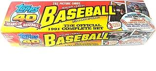 1991 topps baseball factory set