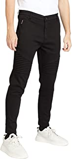 Iconic Men's 2300521 ROBY Tapered Trousers, Black
