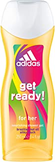 Adidas Get Ready Shower Gel for Women, 250 ml