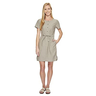 NAU Short Sleeve Twisted Dress (Sable) Women